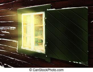 fenêtre, noël