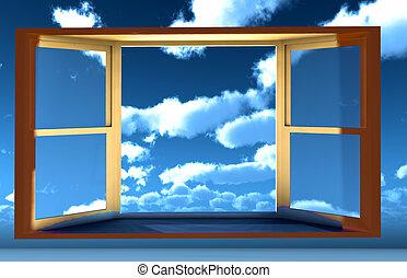 fenêtre, occasion