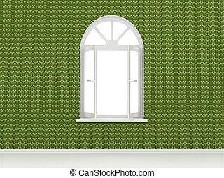 fenêtre, ouvert