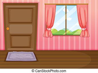 fenêtre, porte