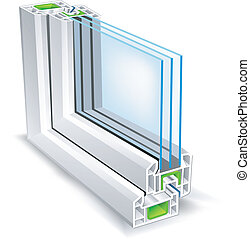 fenêtre, profil