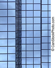 fenêtre, reflet