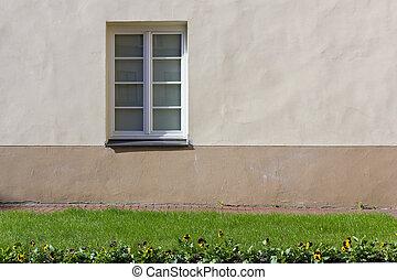 fenêtre, simplement, plastique