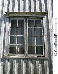 fenêtre, vieux