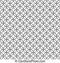 fence., achtergrond., vector, black , bekabeld, ring, kooi, witte