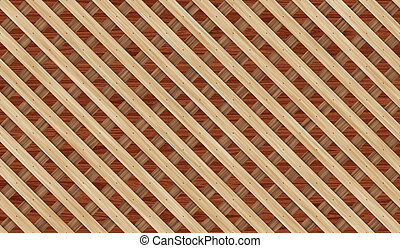 fence from wooden planks for background on the diagonal