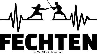 Fencing heartbeat pulse
