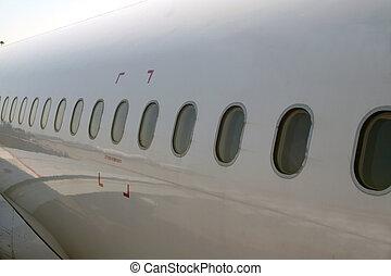 fenetres, avion