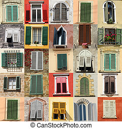 fenetres, collection