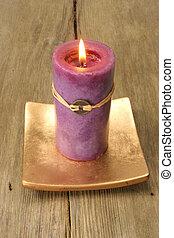 Feng shui candle
