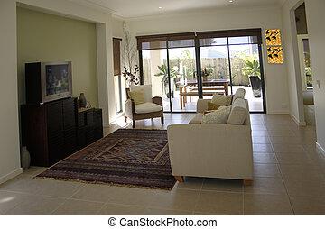 new home interior designed using feng shui