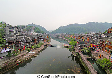 Fenghuang ancient town in China