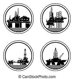 fennsíkok, olaj