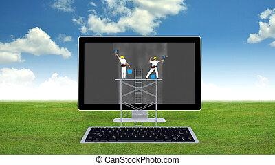 fenntartás, számítógép, fogalom