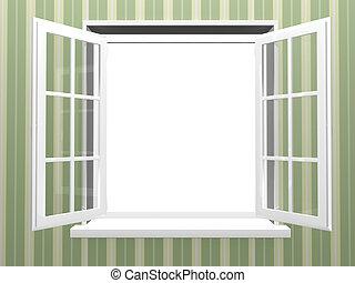 Fenster ge ffnet plastik ge ffnet neu fenster for Fenster 800x800