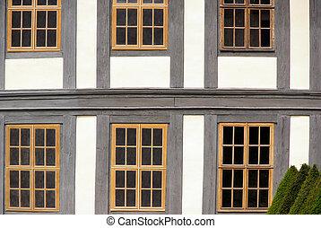 Fenster Fachwerk - window timber framing 02