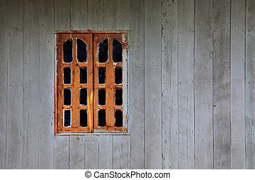 fenster, rotes