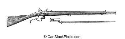 Ferguson Rifle - The Ferguson Ordnance Rifle was used by the...