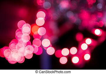 feriado, bokeh., abstratos, natal, fundo