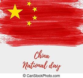 feriado, china, plano de fondo, república, gente, día, ...