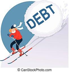 feriado, deuda