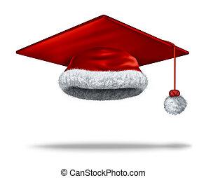 feriado, educación, navidad