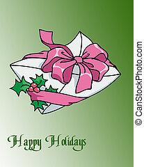 feriado, envelope