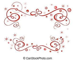 feriado, frontera, rojo