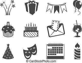feriado, iconos