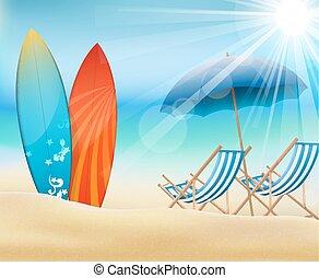 feriado, playa