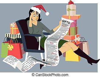 feriado, shopping