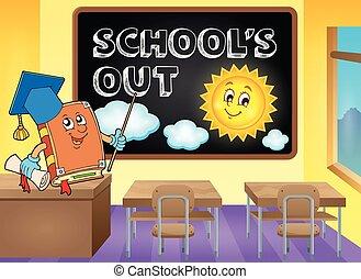 feriados escola, tema, imagem, 6