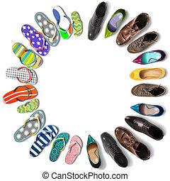 feriados verão, sapatos