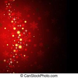 ferie, rød baggrund