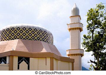 feringghi, batu, moschea