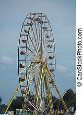 Ferriswheel in a fairground