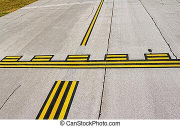 fermata, aeroporto, linee