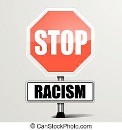 fermata, razzismo