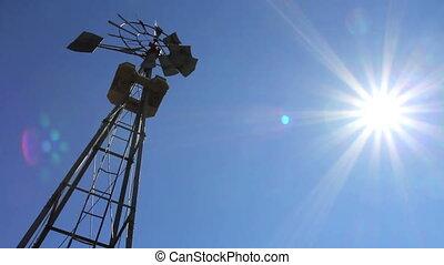 ferme moulin vent