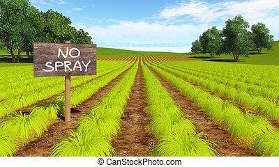 ferme, organique, eco, gratuite, chimique, champ, naturel