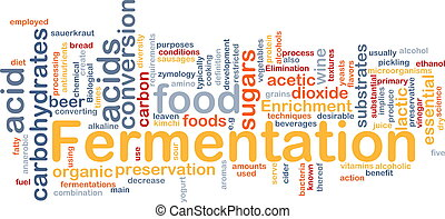 Fermentation process background concept - Background concept...