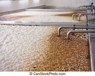 Fermenting of a beer