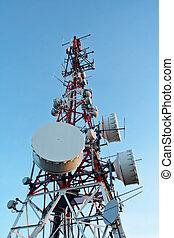 fernmeldeverwaltungen, antennen