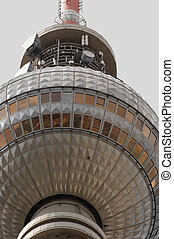 Fernsehturm Berlin detail