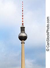 Fernsehturm TV tower in Berlin