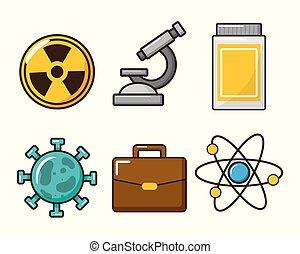 ferramenta laboratório, ciência