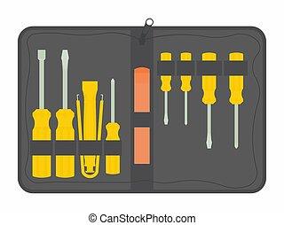 ferramenta, maintenance., equipamento