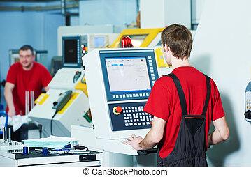 ferramenta, oficina, trabalhador