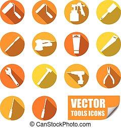 ferramentas, ícones