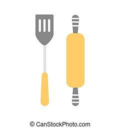 ferramentas, cobrança, cozinha